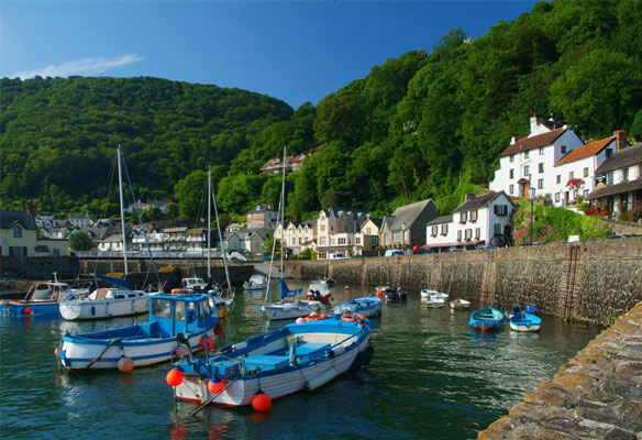 Lynmouth and Lynton Karbours Quays and Waterfronts